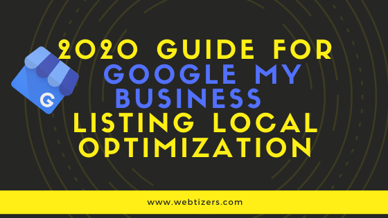 Google My Business Listing For Local Optimization